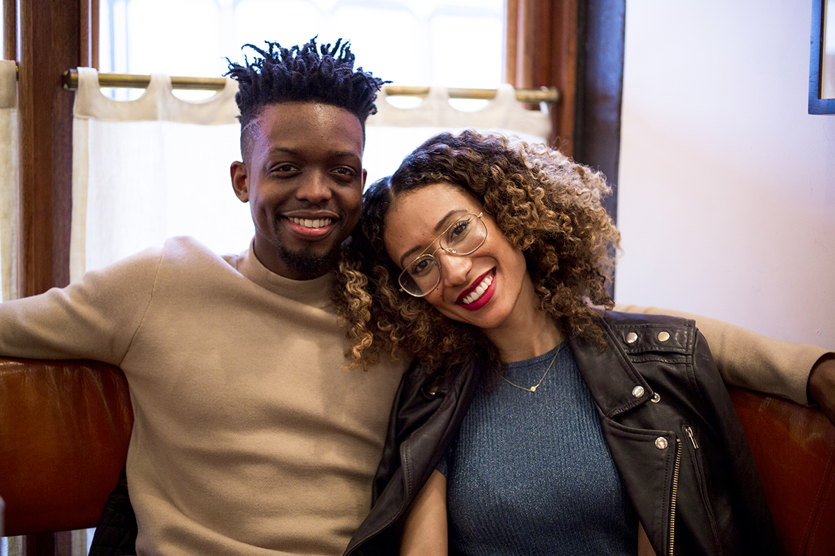 It's kind of a funny story: Elaine Welteroth and Jonathan Singletary discuss how they met.