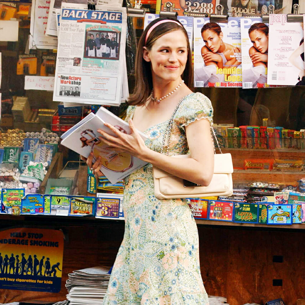 I Need to Talk About Jennifer Garner's Outfits in '13 Going on 30'