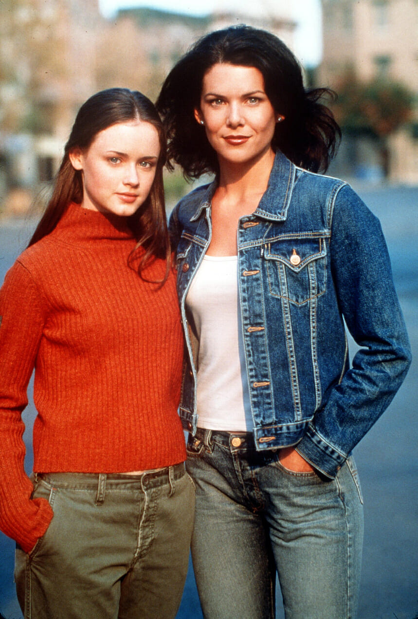 Gilmore Girls Rory and Lorelai Mother daughter relationship
