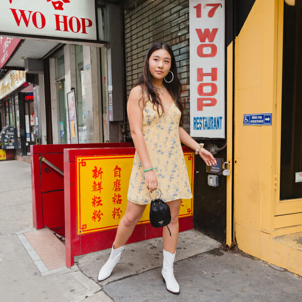Gina Lin talks about what she wears when she goes out.