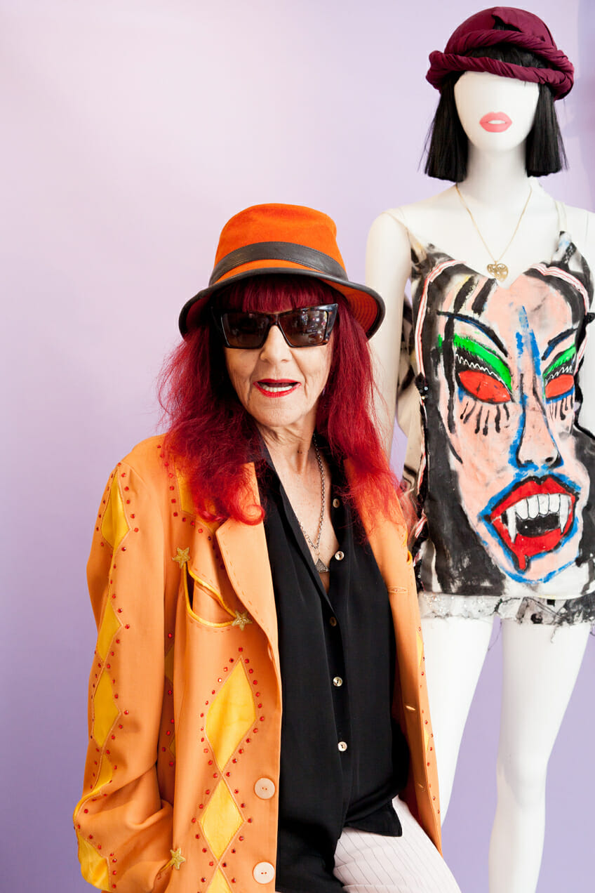 Patricia Field, costume designer behind Sex and The City, poses for a photograph.
