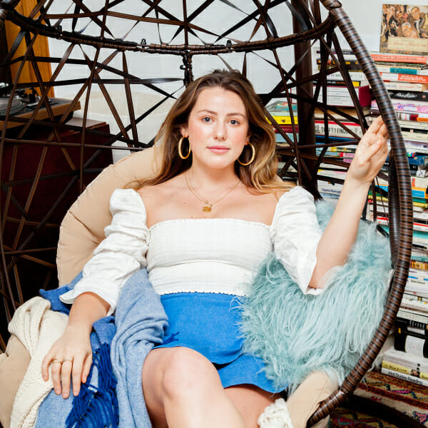 Caroline Calloway talks to Man Repeller about becoming a personal brand and writing her book on Instagram.