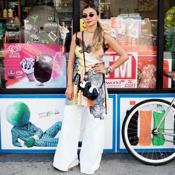 Nasiba Adilova wears one tie-dye dress 5 ways for 5 days.