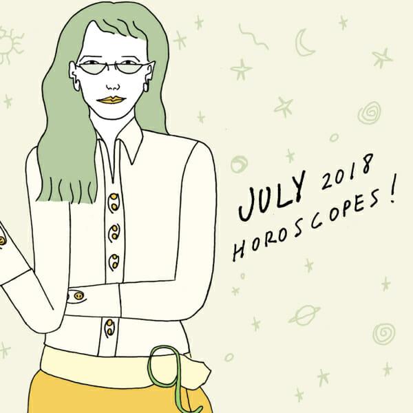 July 2018 horoscopes man repeller