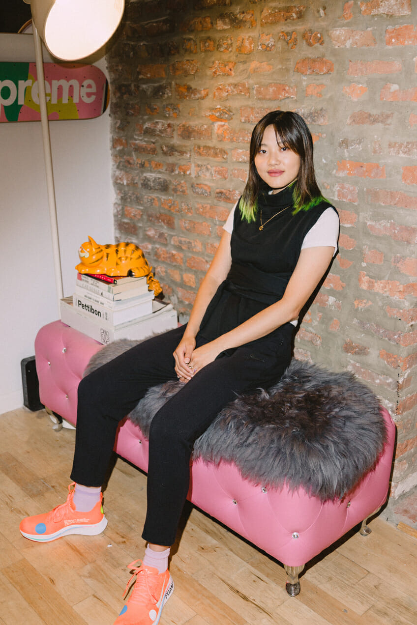 Gia Seo talks to Man Repeller about her hair diary