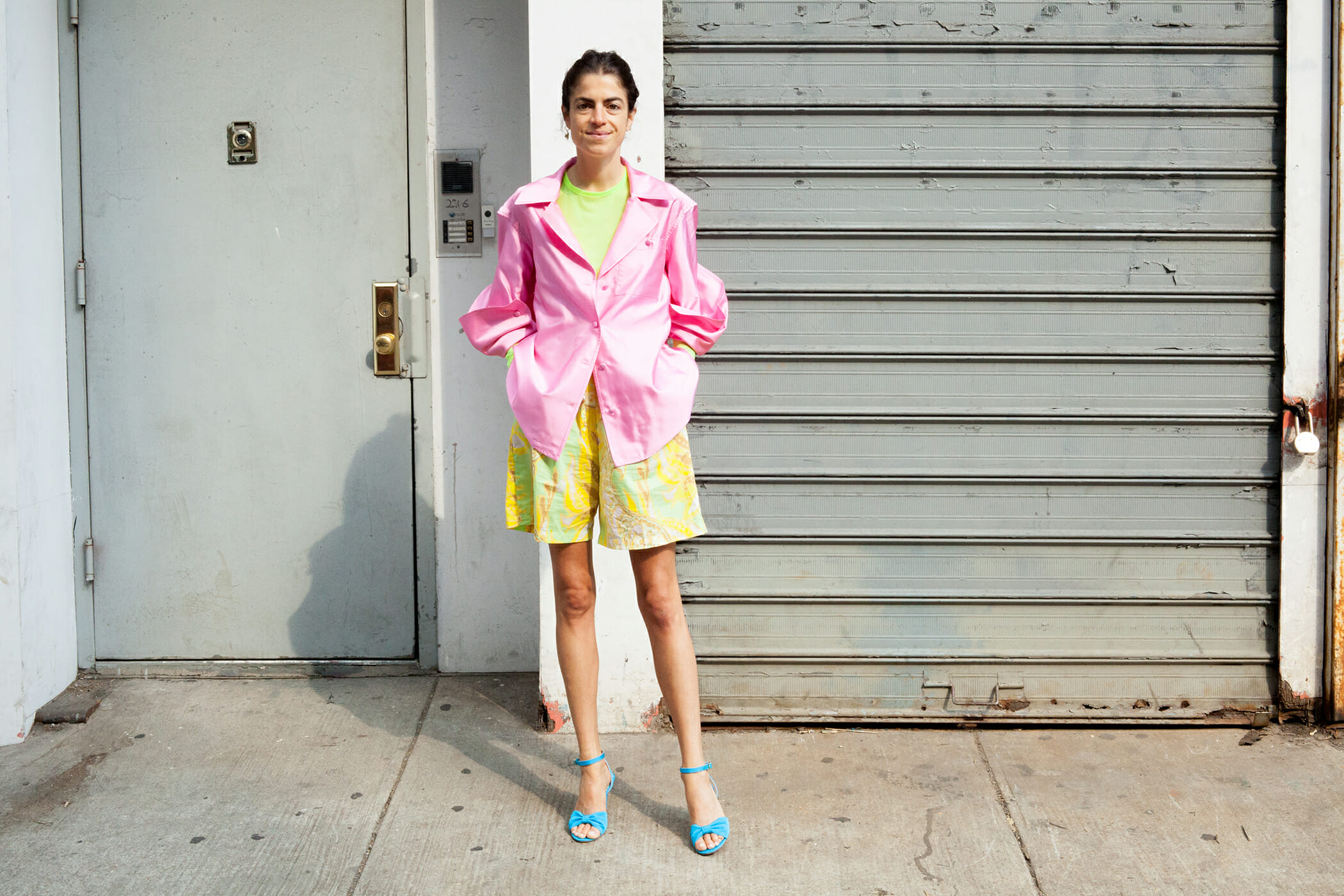 Leandra Tries to Wear Neon Tastefully, Concludes It's Kind of Hard