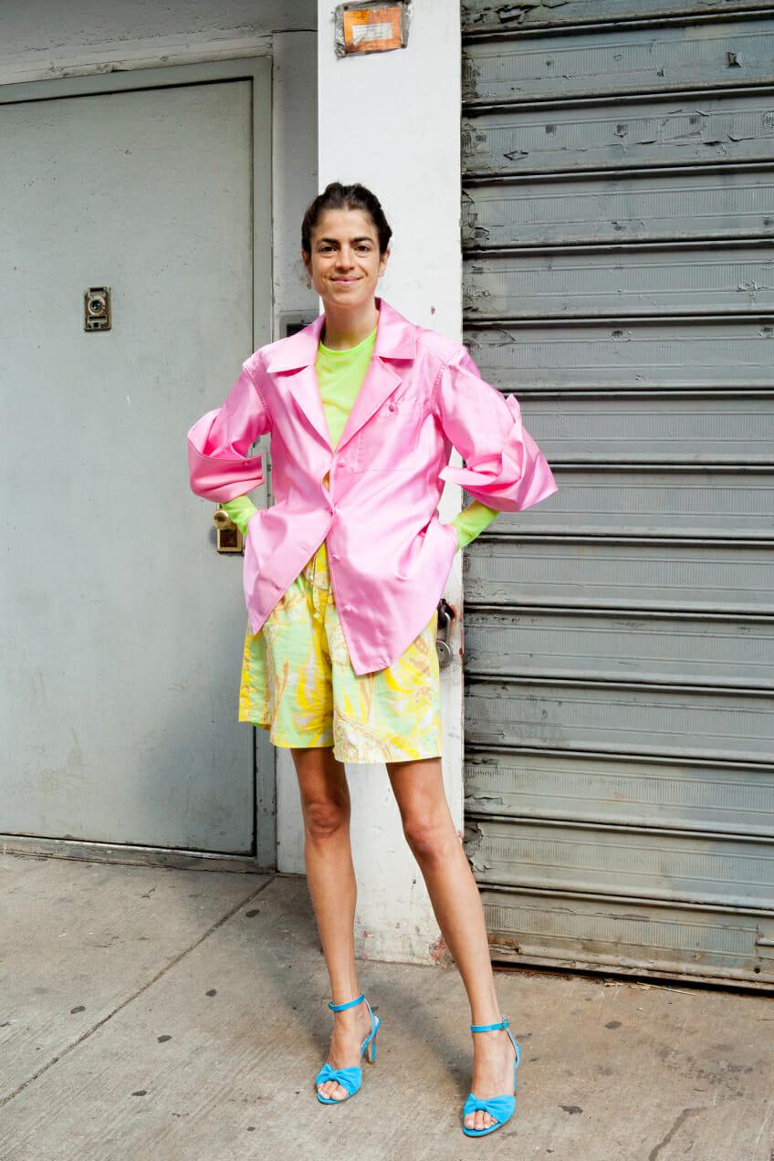 Leandra Medine wonders if you can wear neon tastefully.