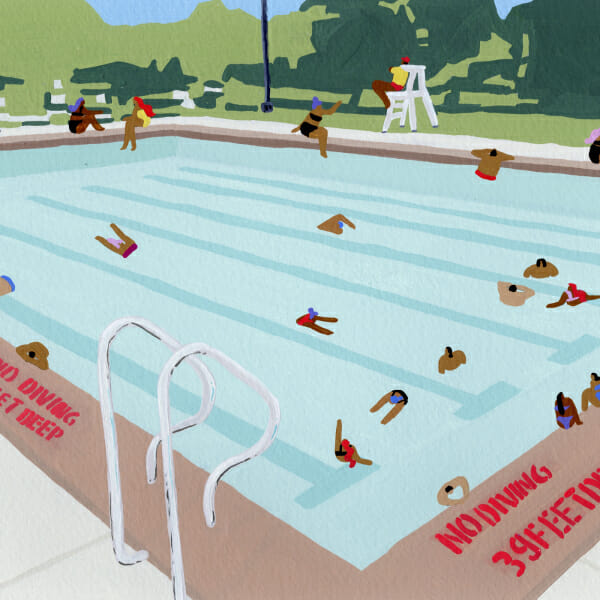 NYC Public Pools Man Repeller Summer 2018