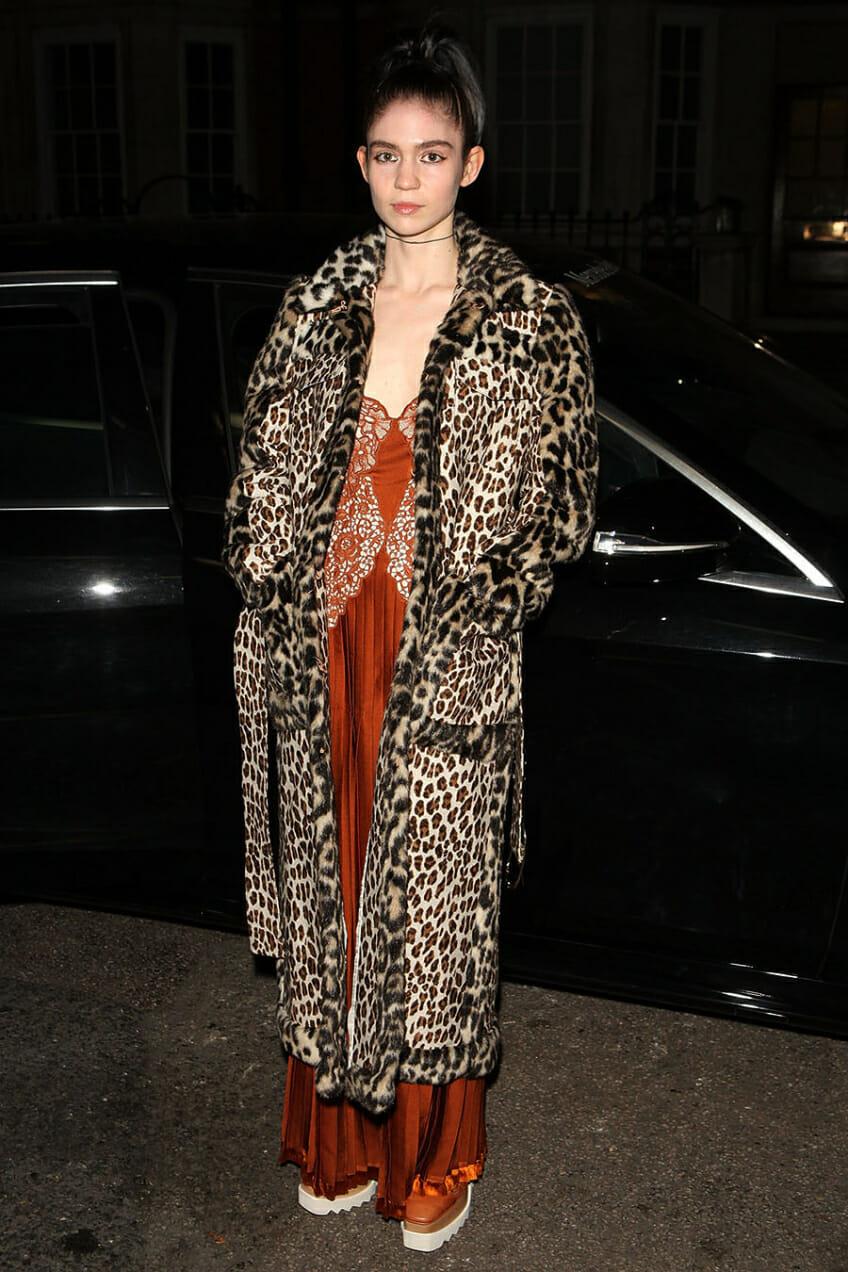 grimes leopard coat