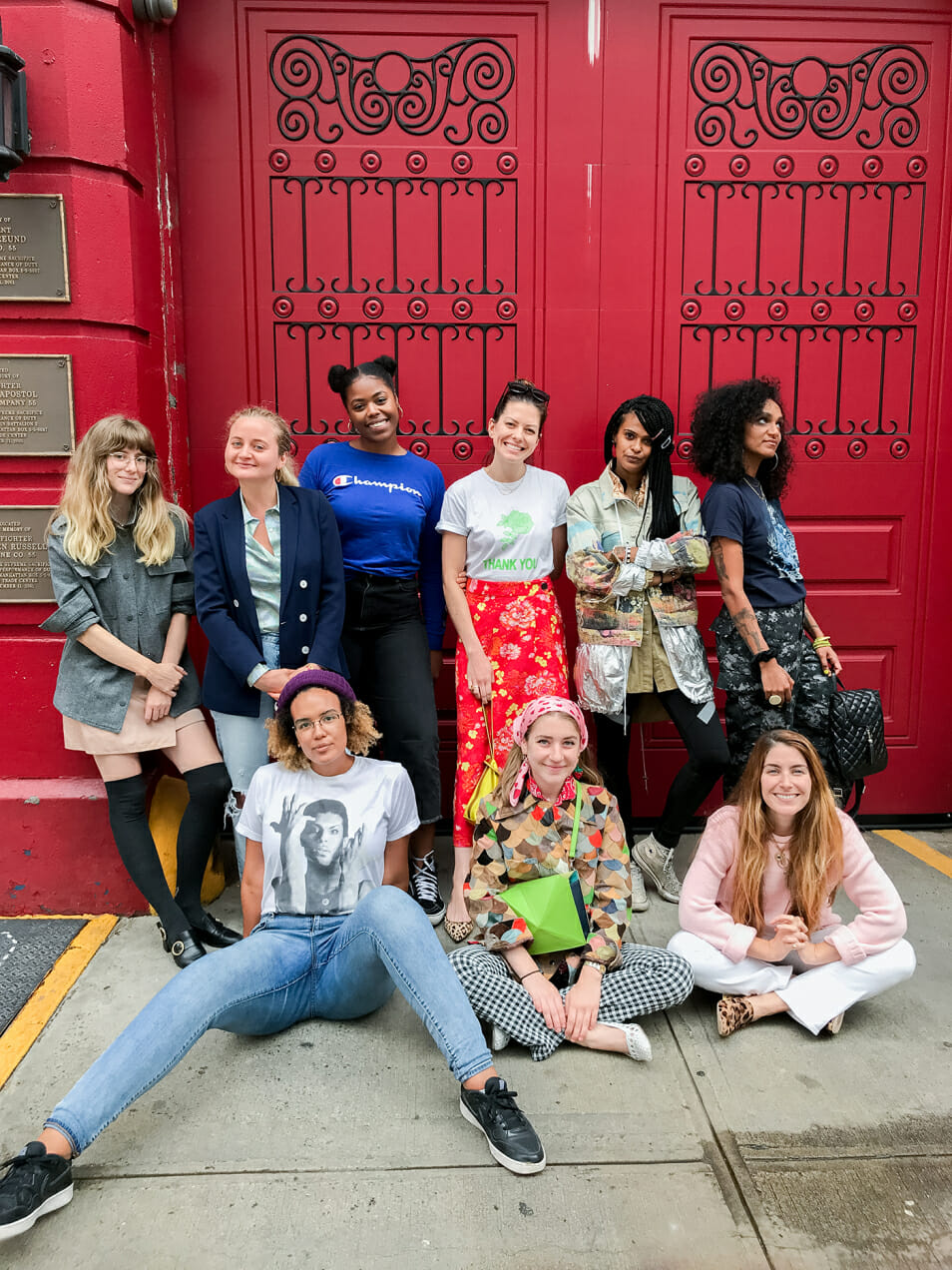 Man Repeller wears their first day of school outfits