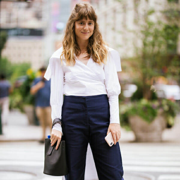 Haley Nahman talks about her day in the life at fashion week