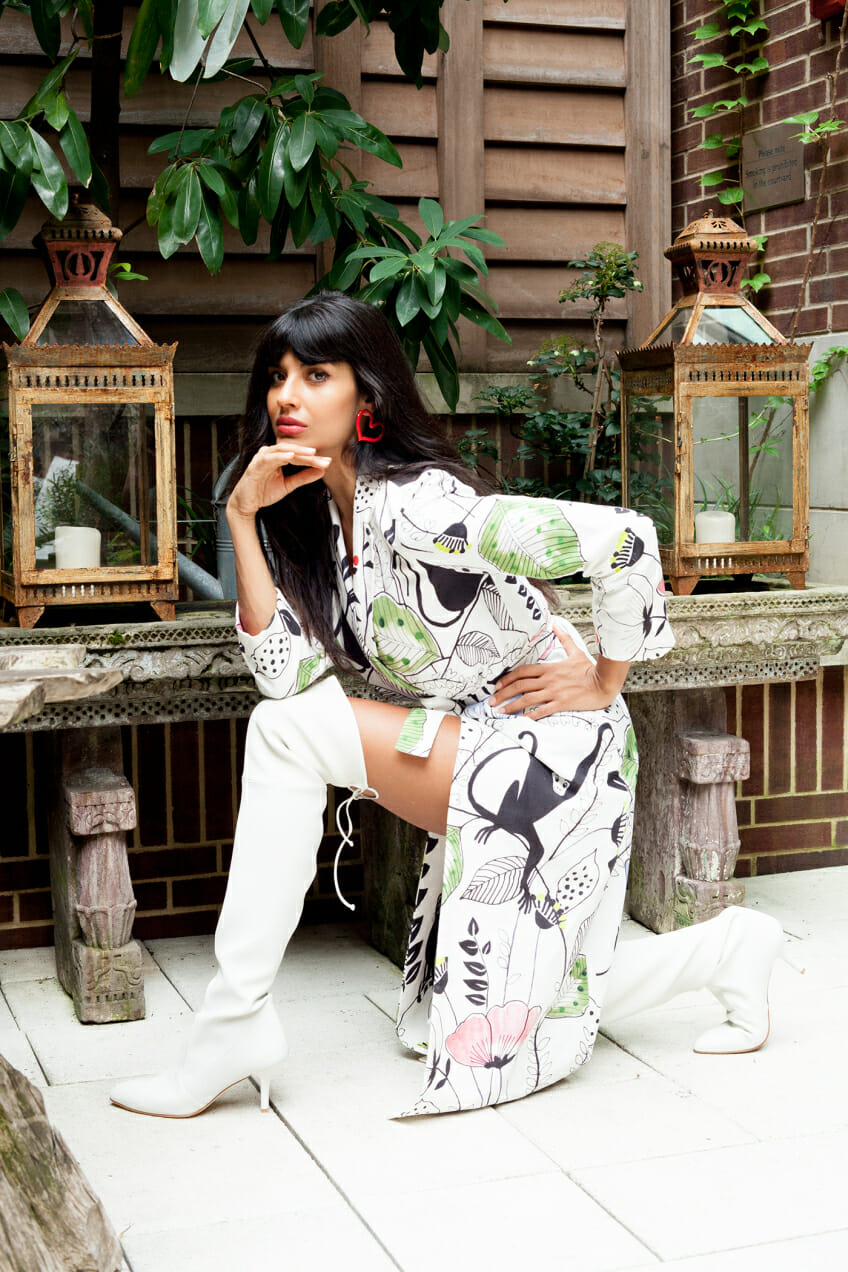 Jameela Jamil of The Good Place talks to Man Repeller