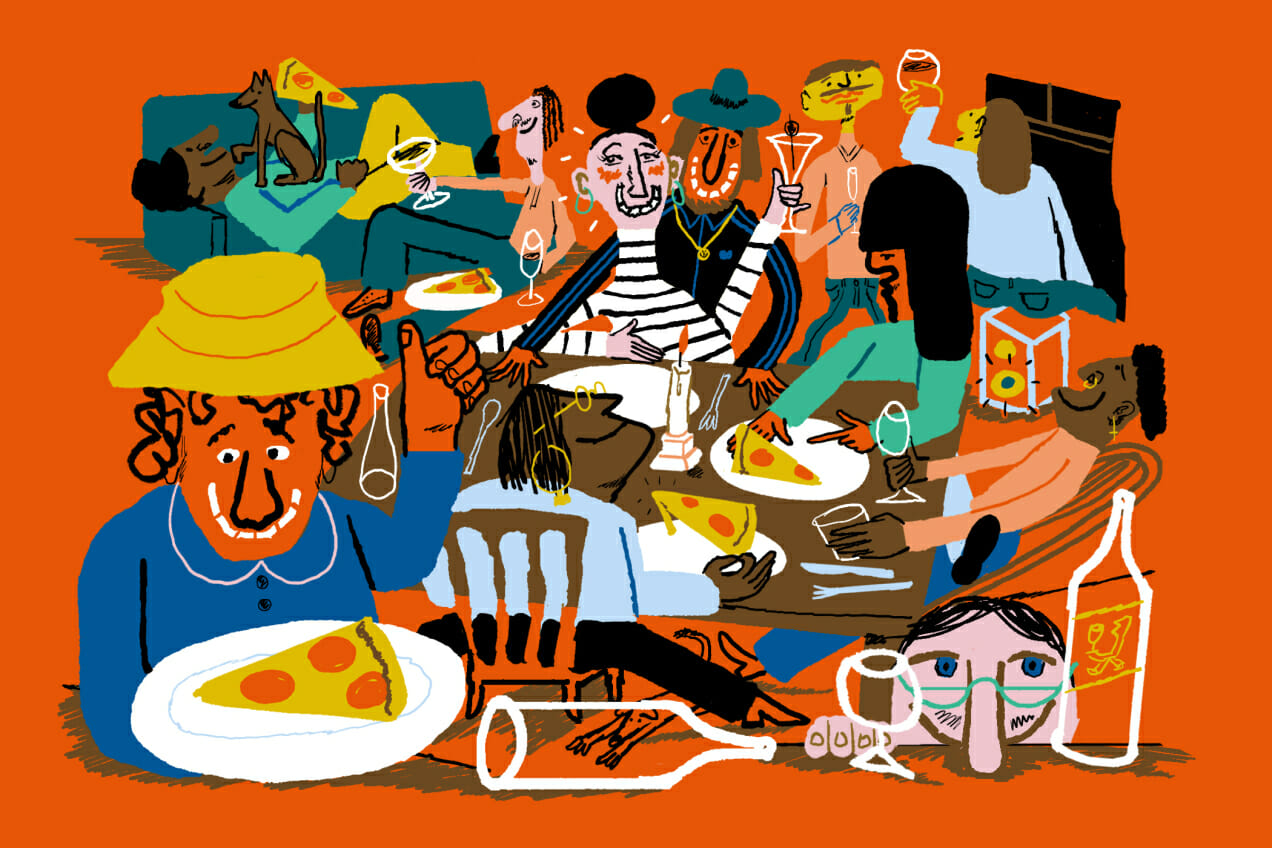 Dinner Party lessons man repeller alec doherty