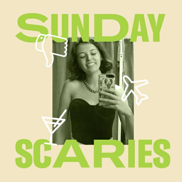 starling sunday scaries mirror selfie