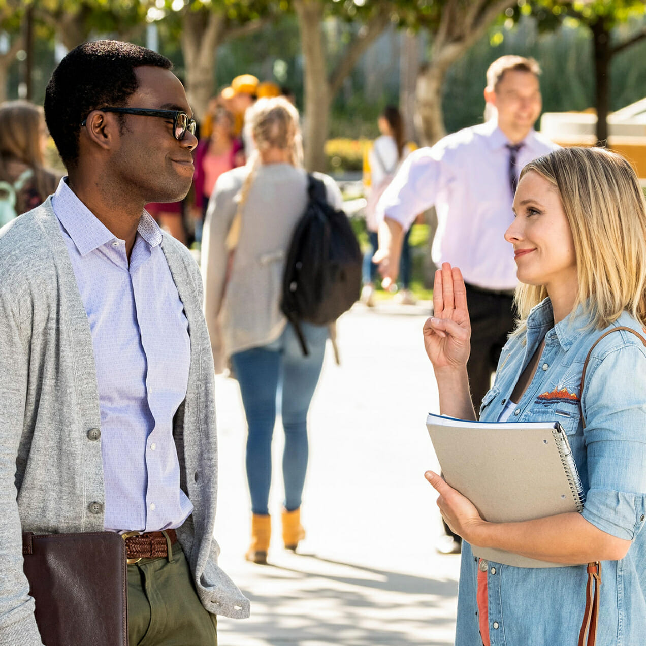 The Good Place man repeller