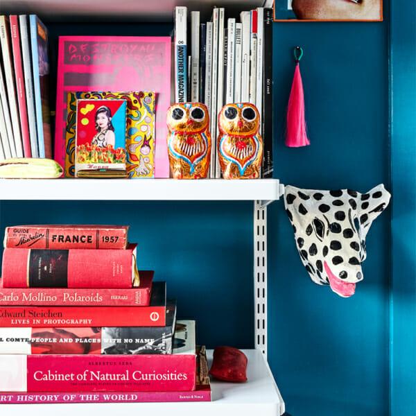 books shelf home decor