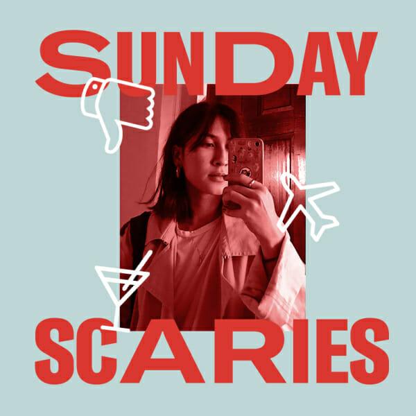 louisiana sunday scaries mirror selfie stickers