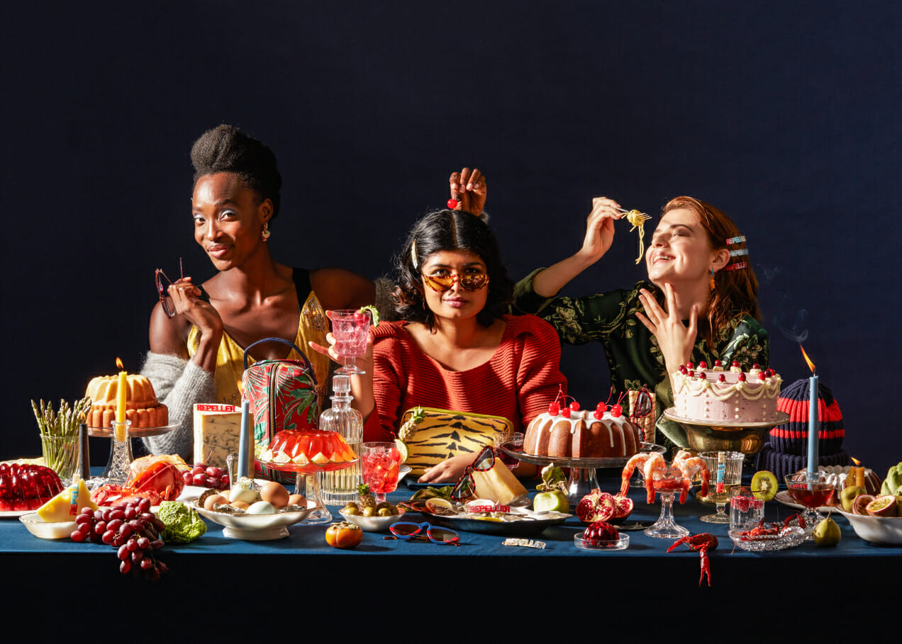 MR Buffet man repeller product launch holiday 2018
