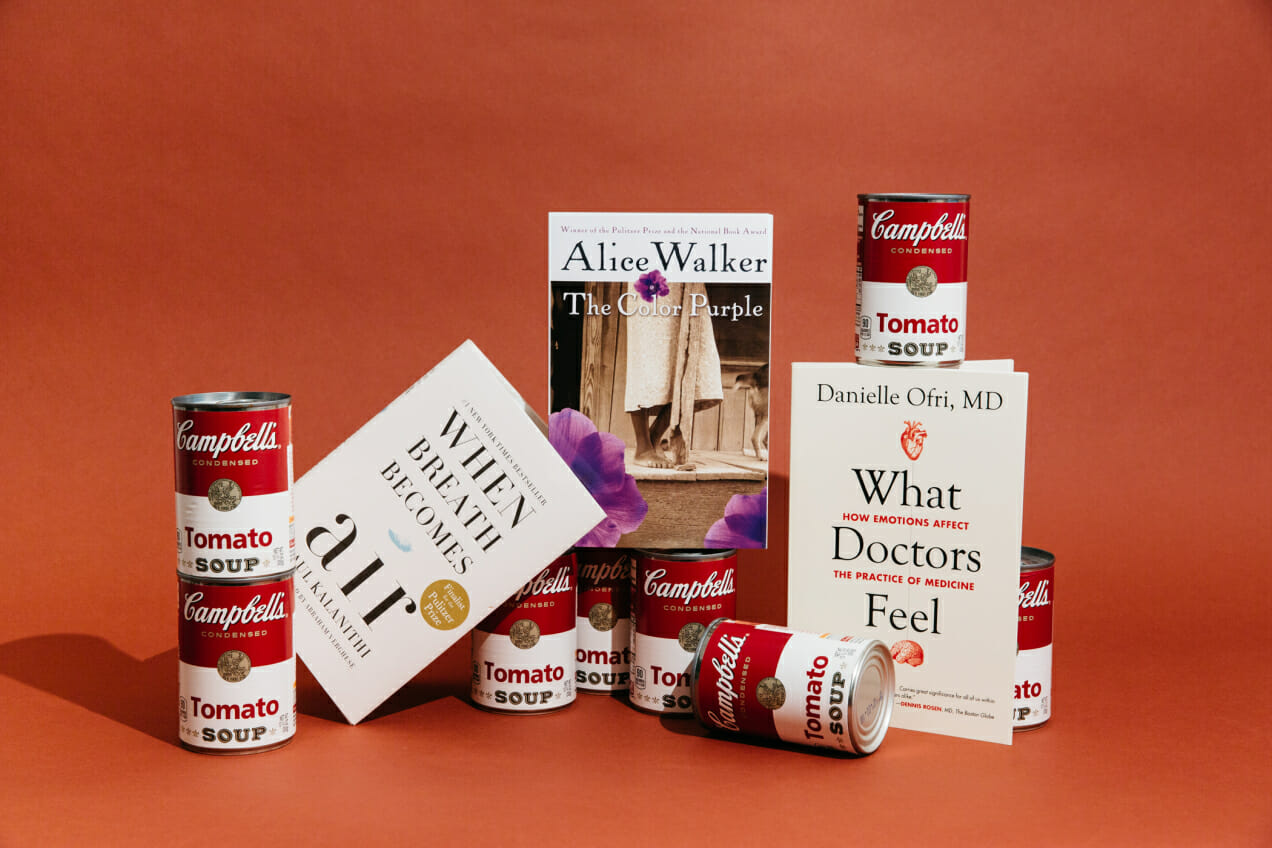 book club campbells tomato soup what doctors feel color purple breath becomes air