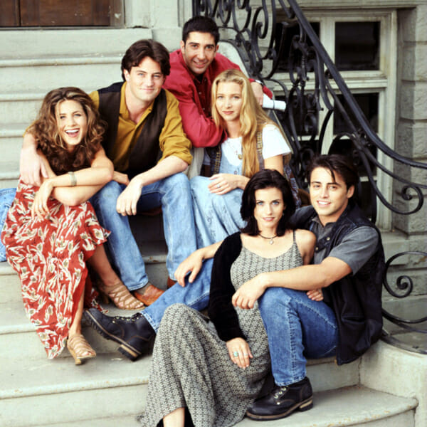 David Schwimmer, Lisa Kudrow, Matt LeBlanc, Courteney Cox Arquette, Jennifer Aniston, Matthew Perry friends