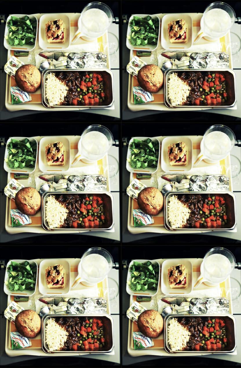 airplane food man repeller