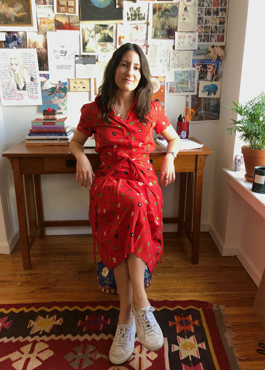 working from home style man repeller