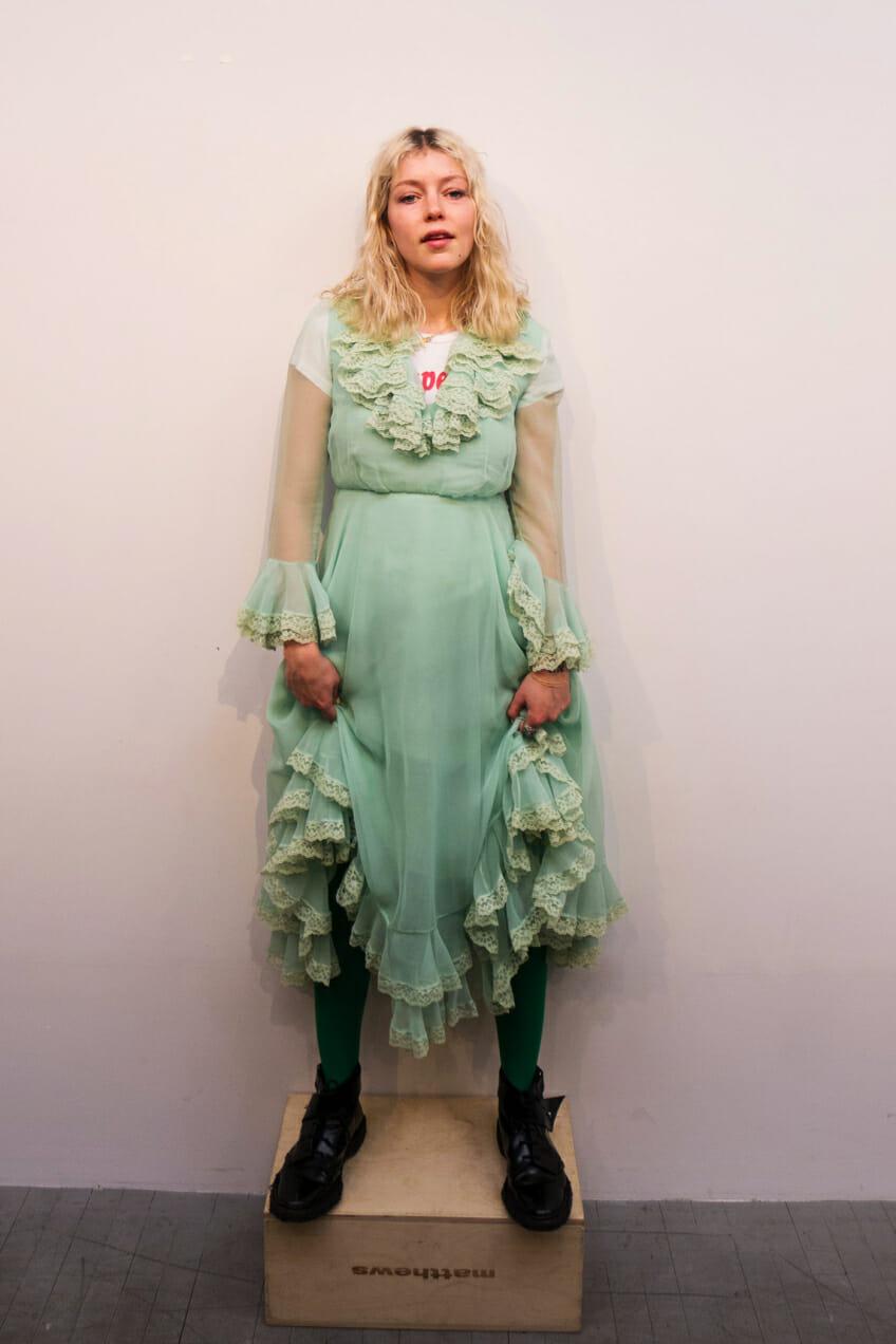 ruby redstone green dress