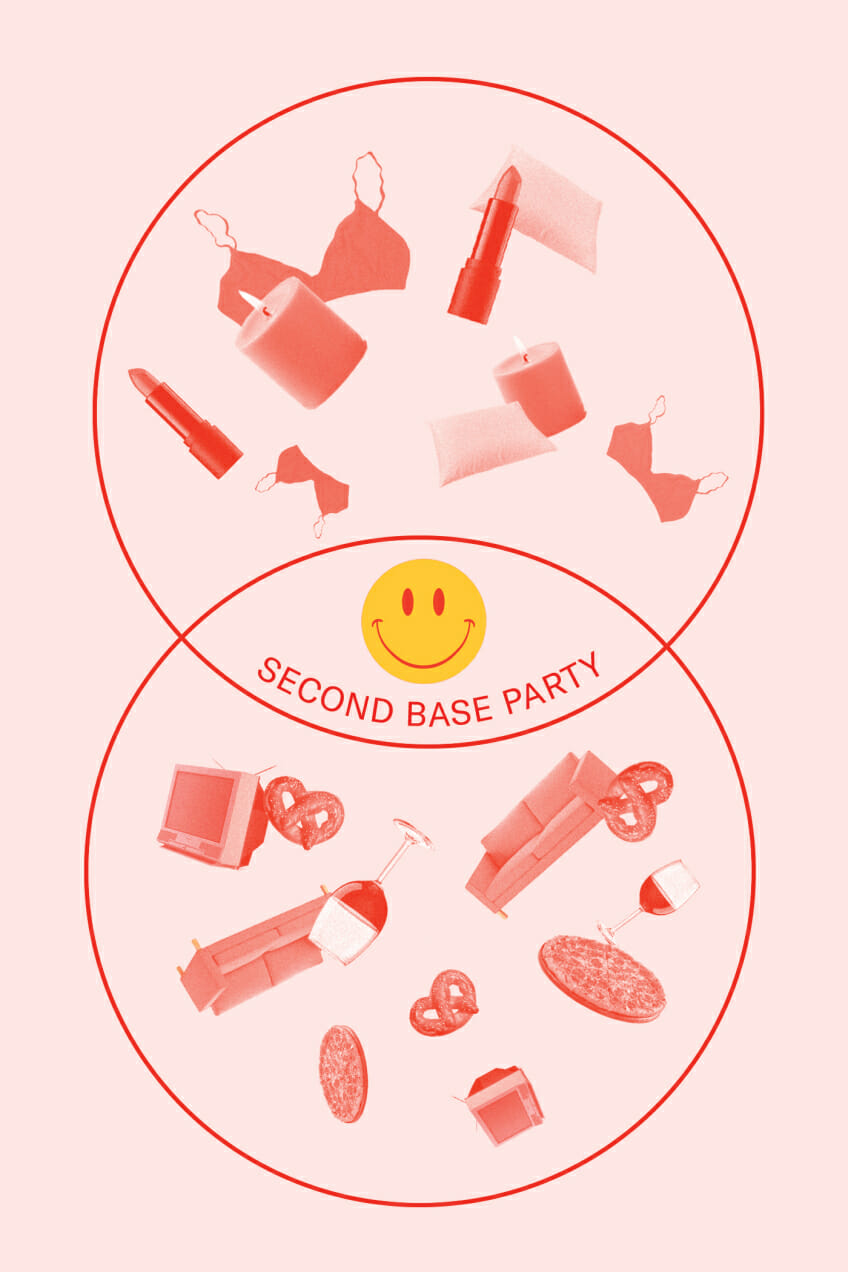 Second Base Party Man Repeller