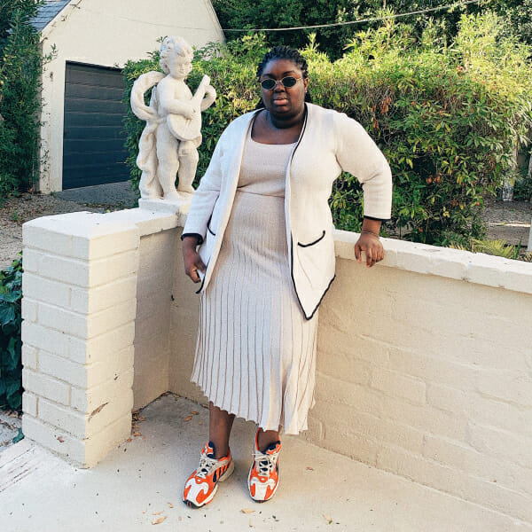 size inclusive spring outfits man repeller plus size