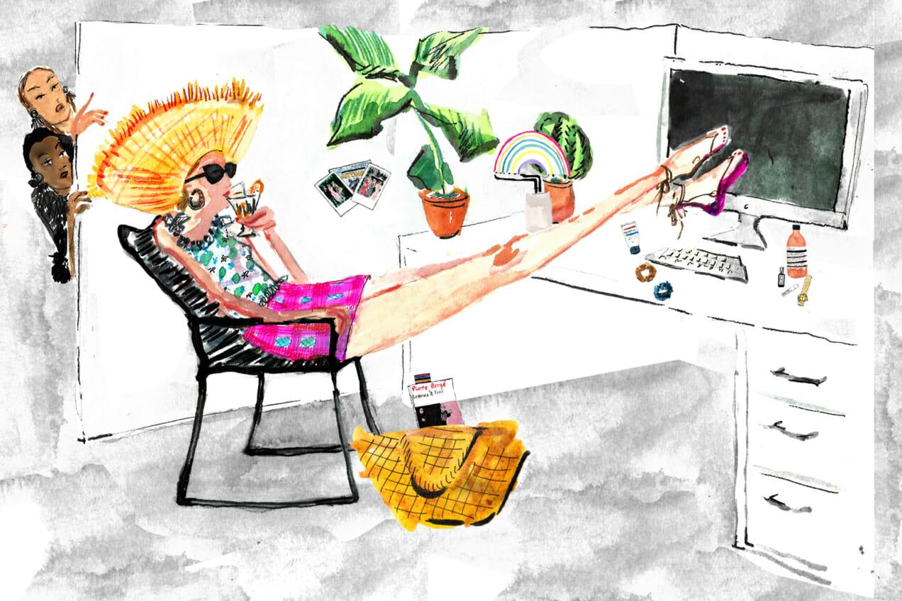 rebranding weekend as vacation man repeller