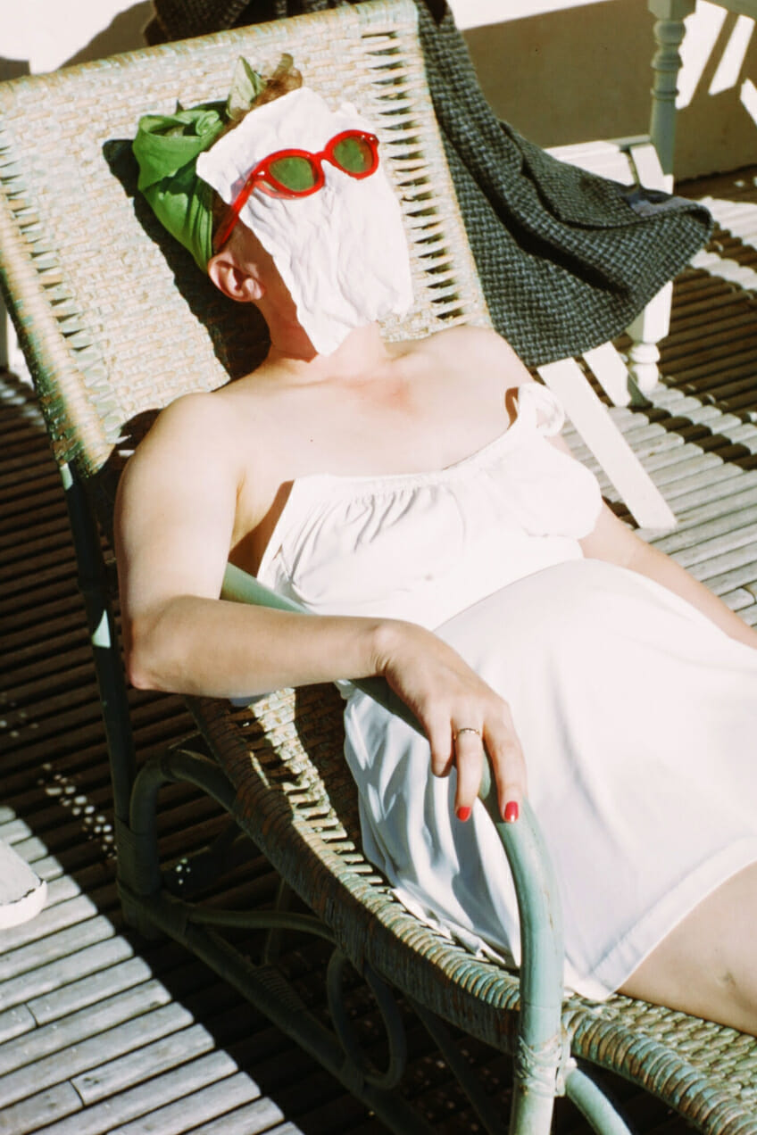 Sunscreen Man Repeller
