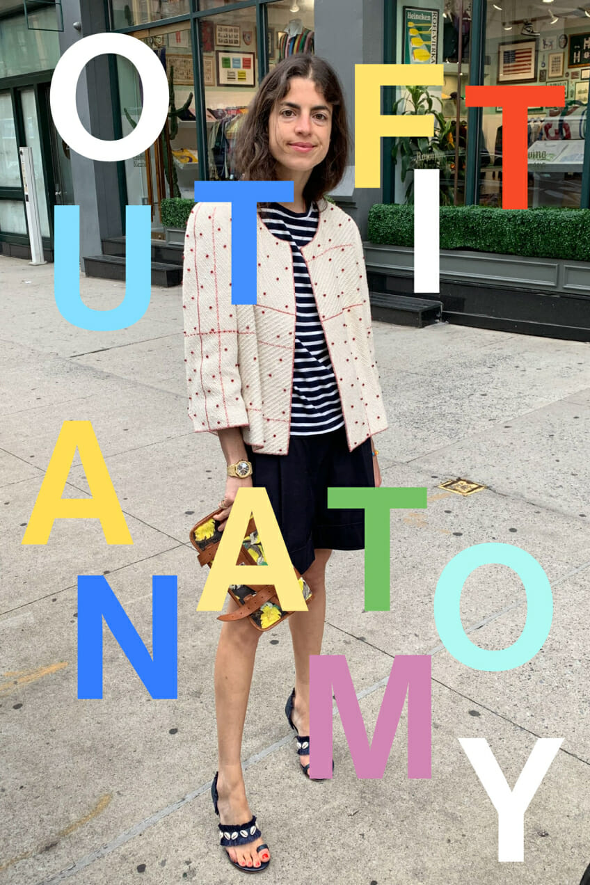 leandra medine cohen style outfit anatomy man repeller