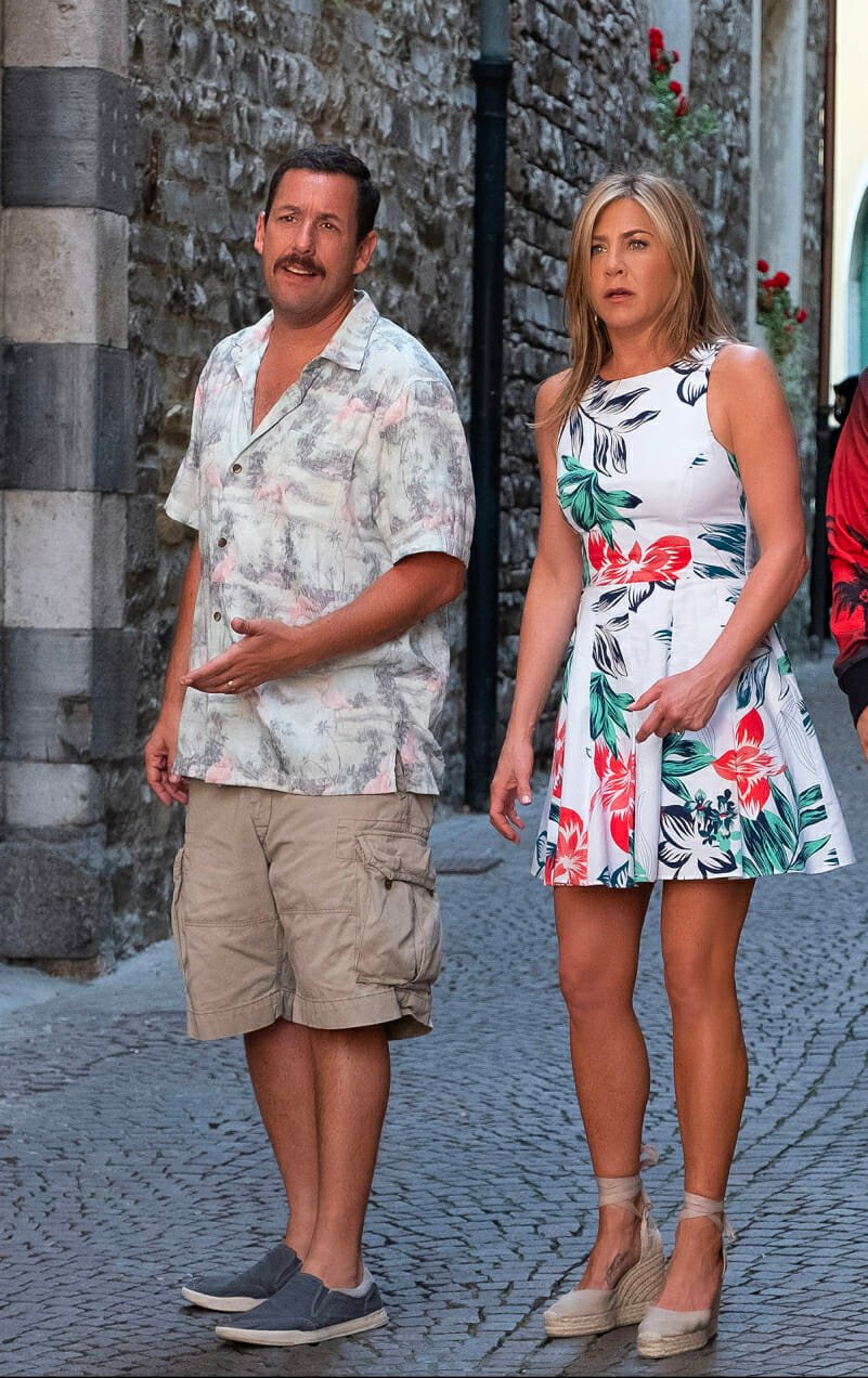 murder mystery adam sandler jennifer aniston man repeller netflix