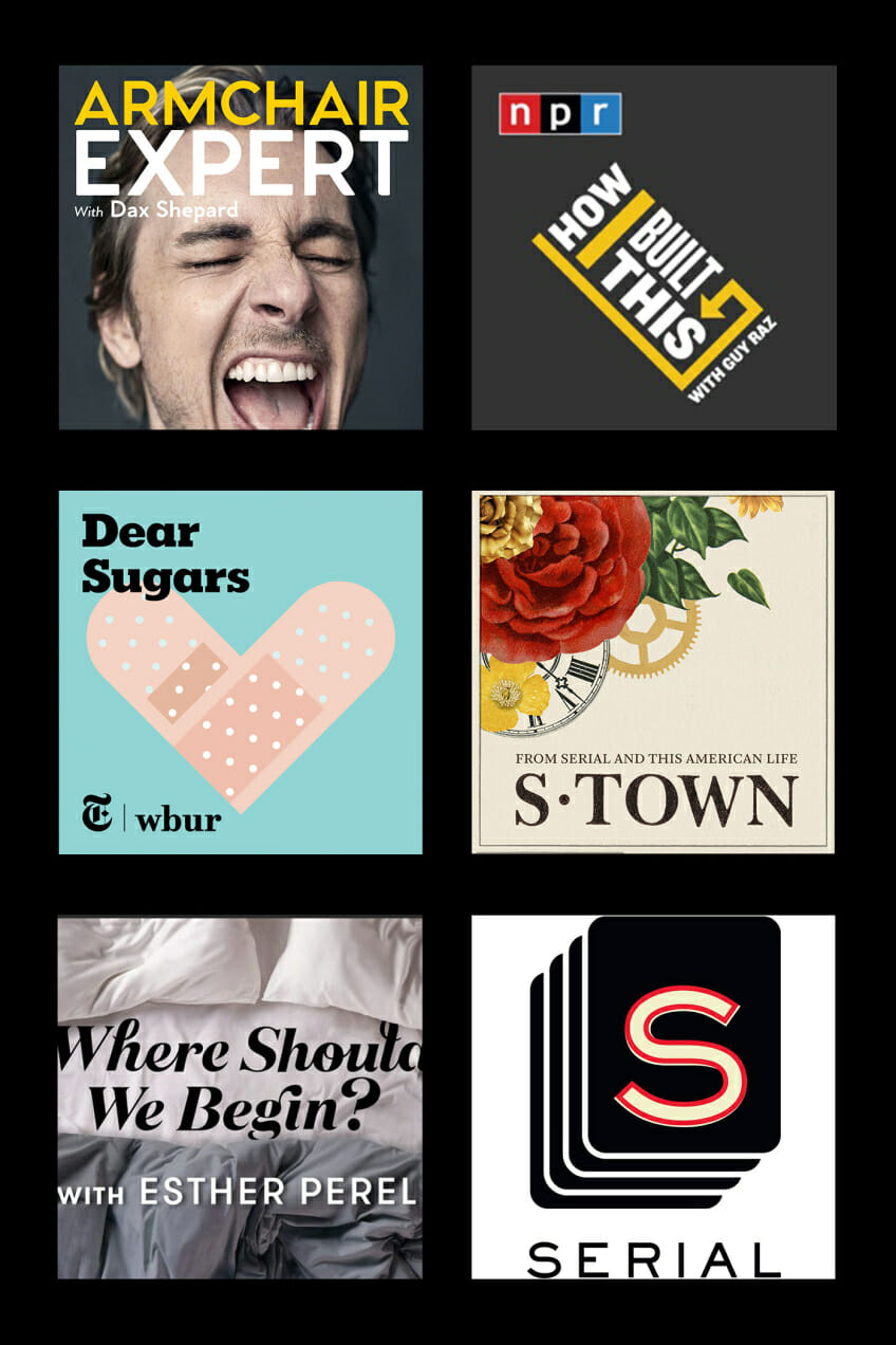 Addicting podcasts man repeller