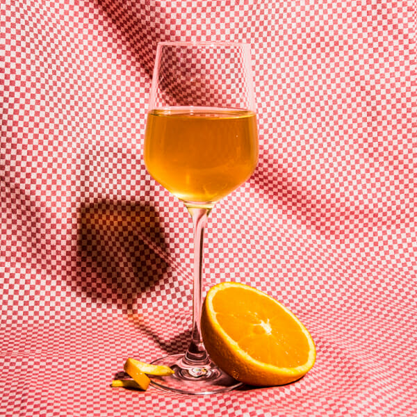 orange wine man repeller