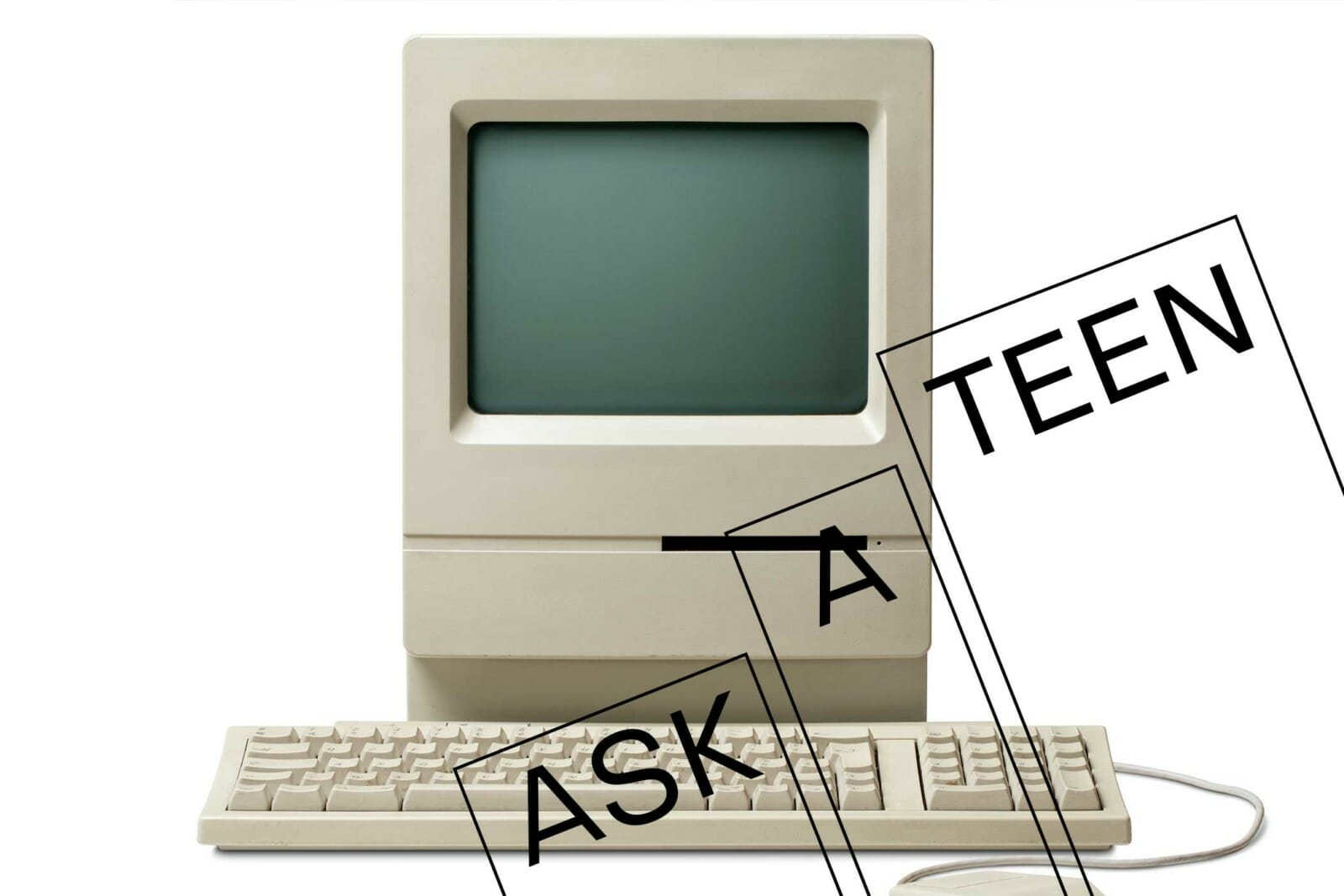 Ask a teen template