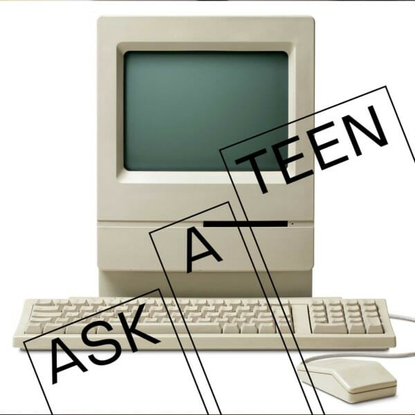 Ask a teen graphic