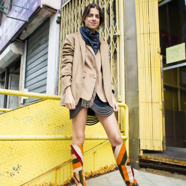 leandra medine self style boots