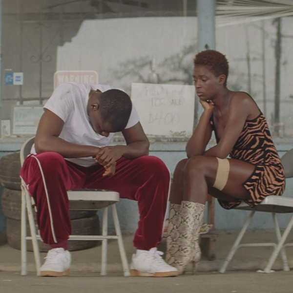 Still from 'Queen & Slim' featuring Daniel Kaluuya and Jodie Turner-Smith