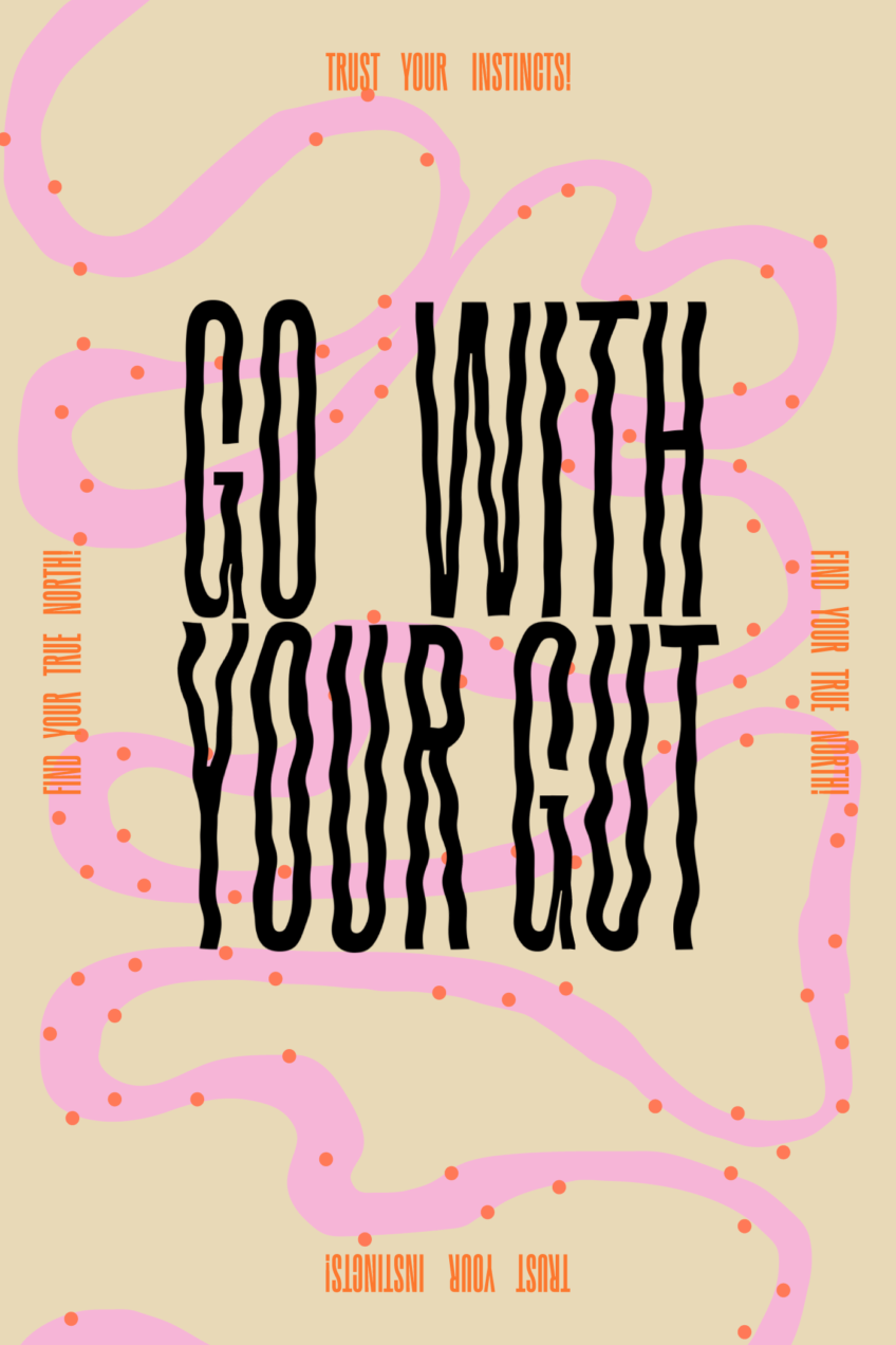 Go With Your Gut Graphic