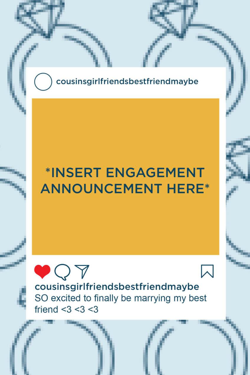 Insert Engagement Announcement Here