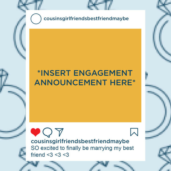 Insert Engagement Announcement Here