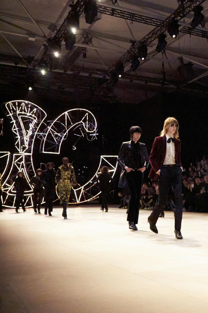 Celine Paris Fashion Week runway
