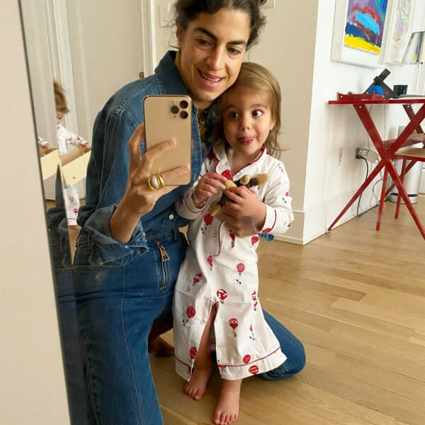Leandra and Daughter