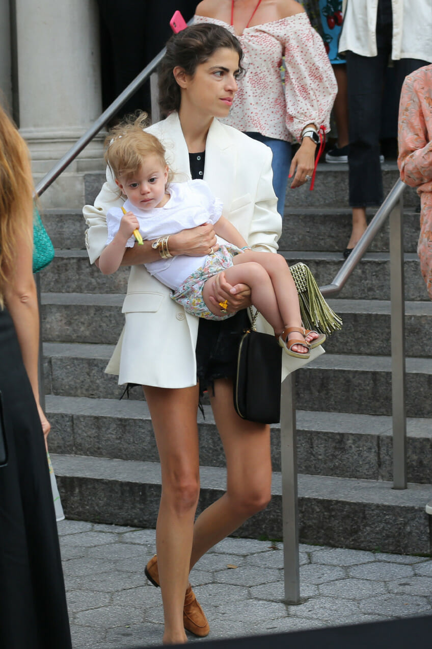 leandra medine and daughter