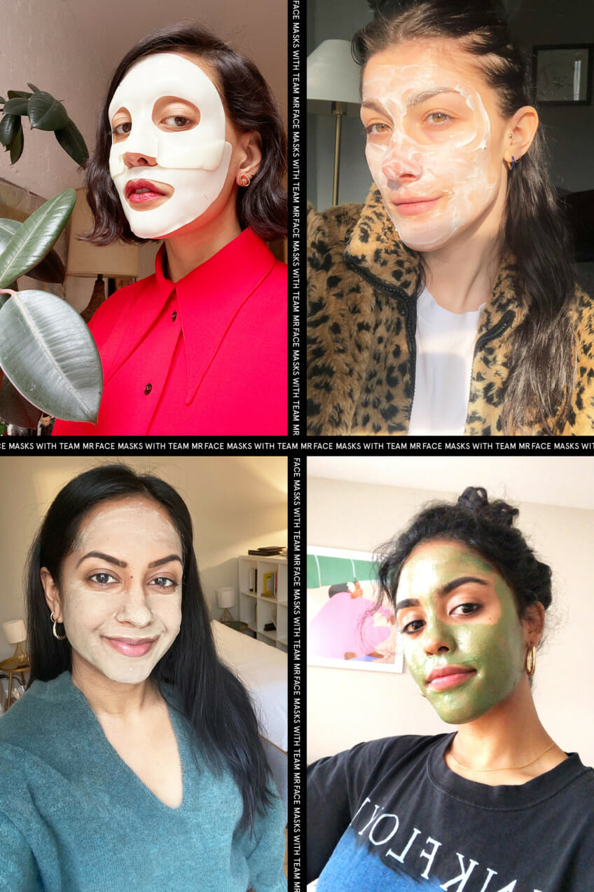 Face Masks with Team MR