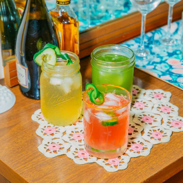 3 Cocktail Recipes Made With! Love!